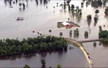 Record flooding hits parts of central Texas