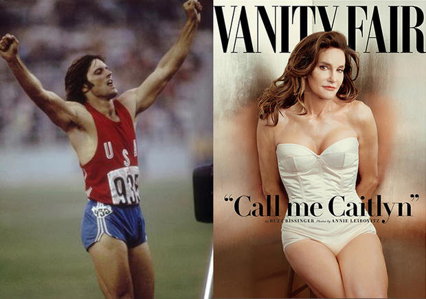 Caitlyn Jenner's transformation