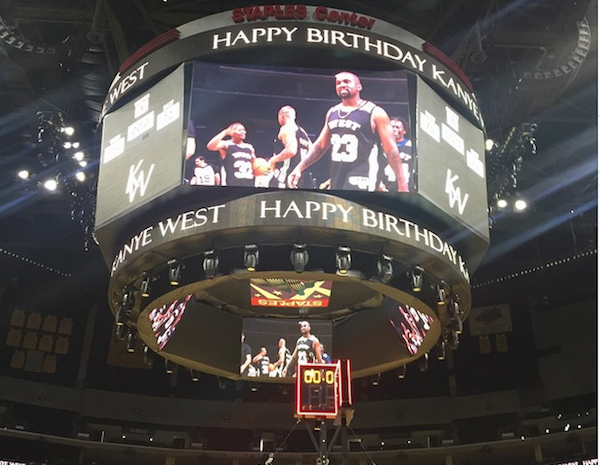 Inside Kanye West's elaborate birthday bash