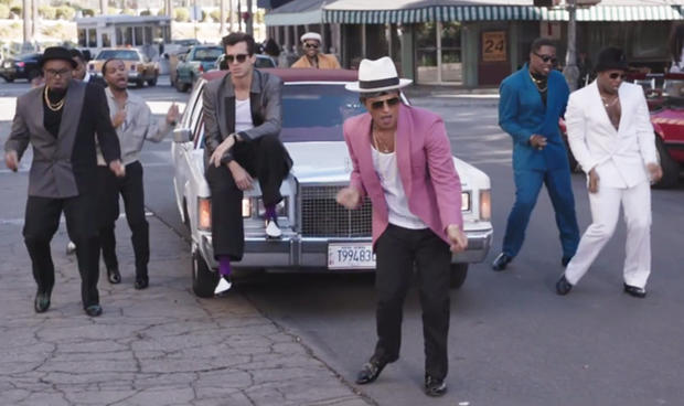 uptown funk mark ronson pictures cbs news. Black Bedroom Furniture Sets. Home Design Ideas