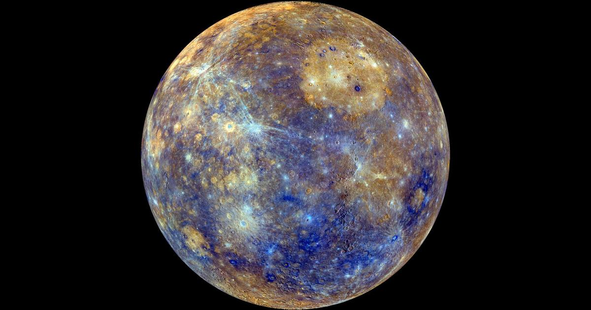 New NASA photo shows Mercury bursting with colors