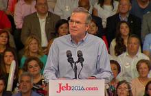 Jeb Bush touts leadership in bid for president