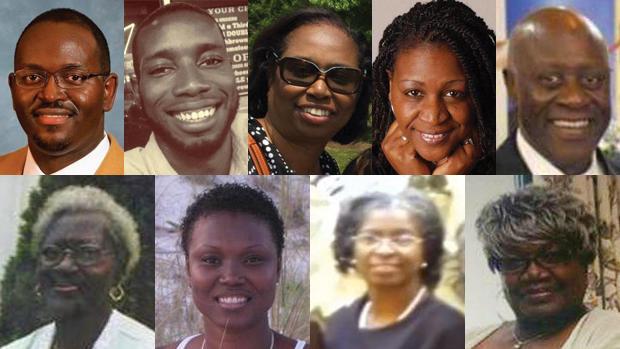 South Carolina church shooting victims