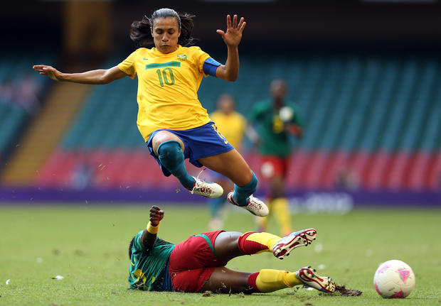 Soccer's top women players