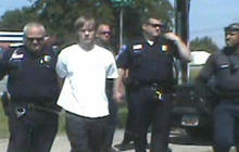 Video provides new look at Charleston church shooting suspect's arrest