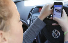 "Drivers blame ""addiction"" for phone use while driving"