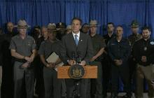 N.Y. Gov. Cuomo gives press conference on end of prison escape manhunt