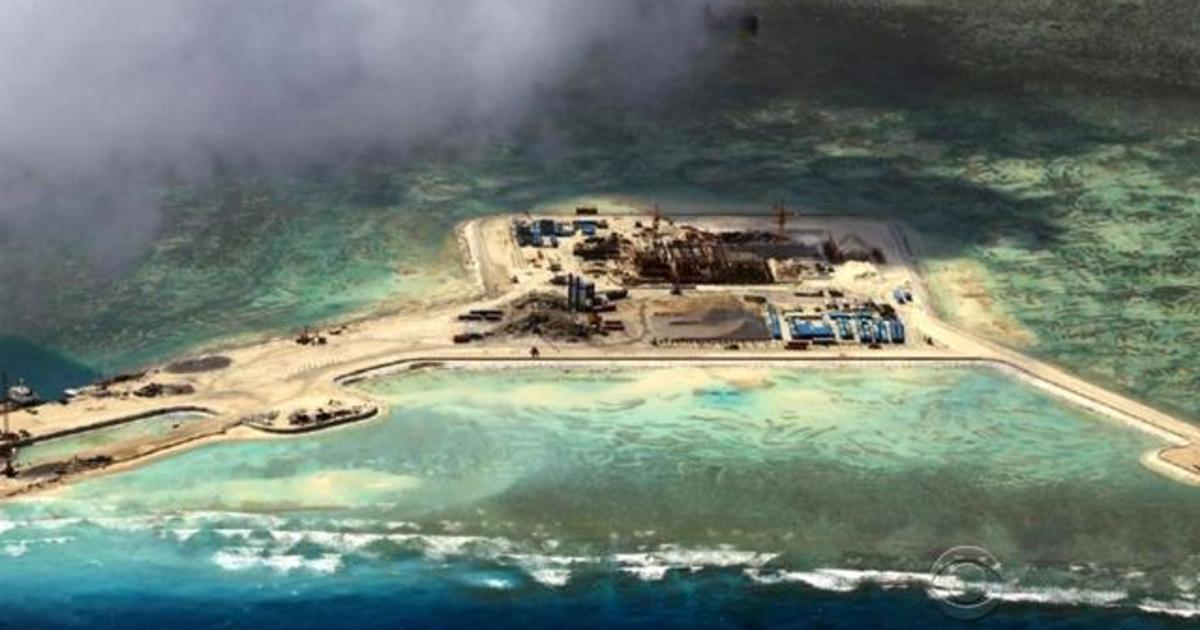 china ramps up island building in south china sea cbs news