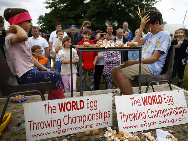 World Championship for throwing eggs