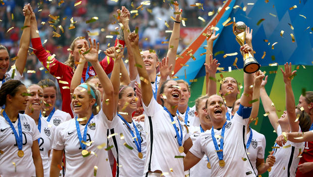 Image result for USA win women's world cup