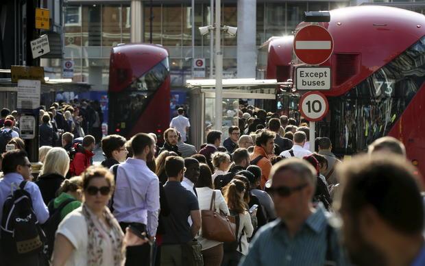 Disruptive London Tube strike