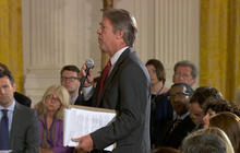 Major Garrett takes on the president