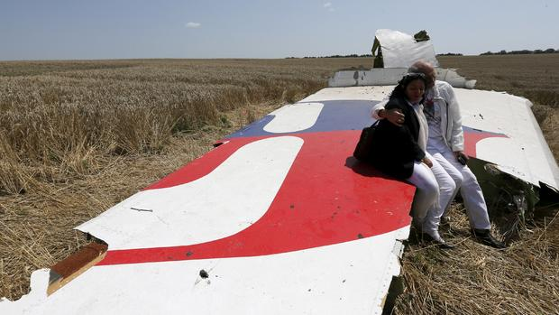 Malaysia Airlines flight shot down in eastern Ukraine