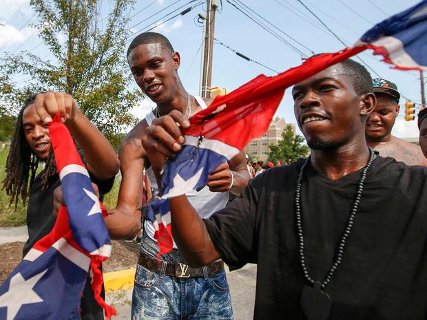 south carolina ku klux klan confederate flag