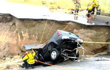 Bridge collapse shuts down major California-Arizona route