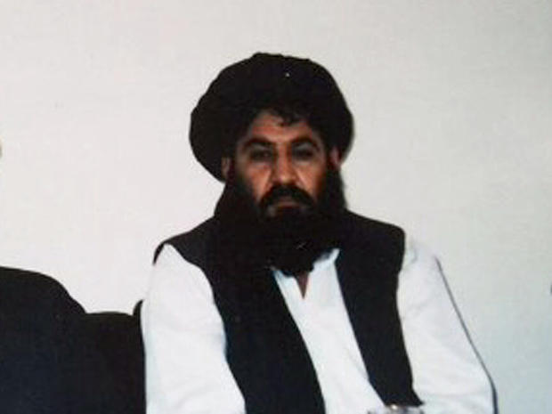 A man believed to be deputy Afghan Taliban leader Akhtar Muhammad Mansor is seen in an undated photo