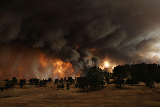 Fires rage in California