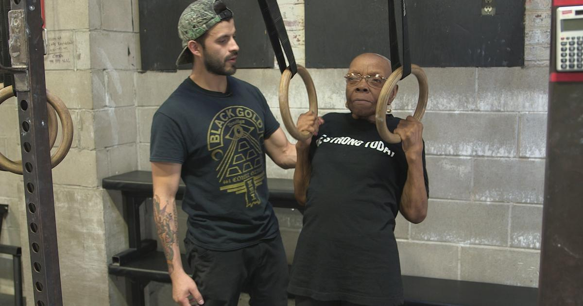 77-year-old CrossFit athlete Constance Tillet's full-body transformation