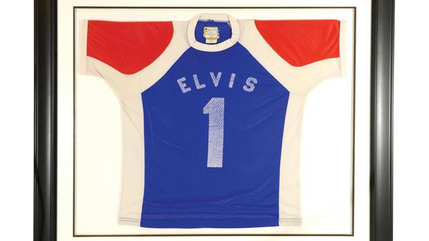 Elvis auction at Graceland
