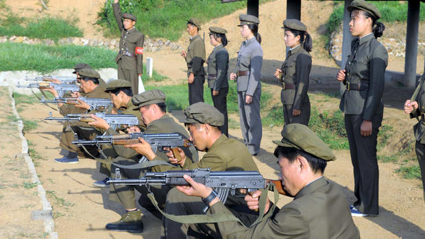 On the road in North Korea