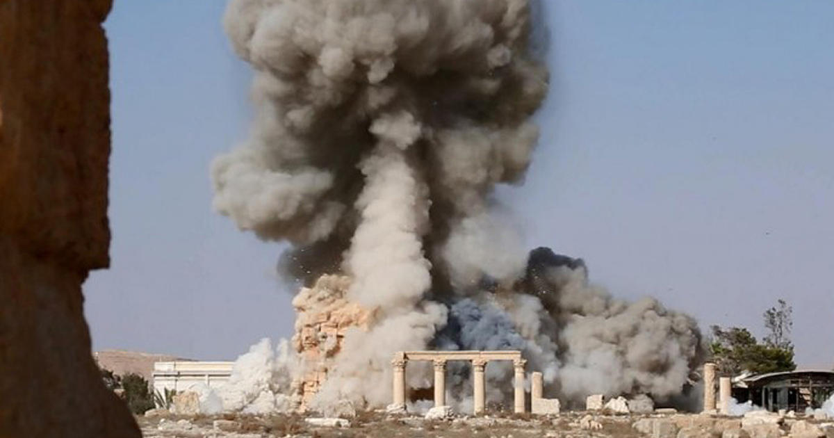 ISIS gloats online over destruction of ancient temple