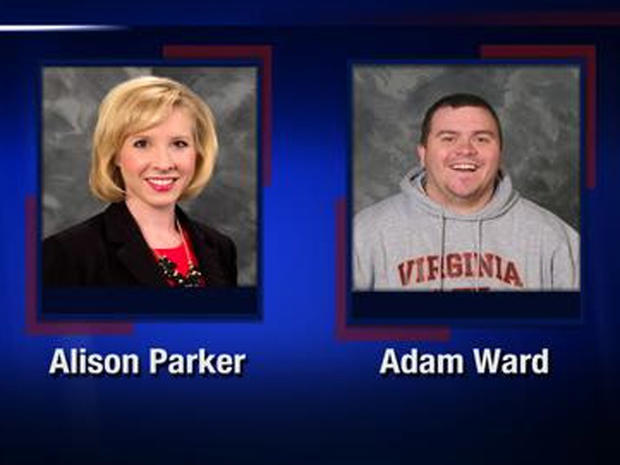 ​Alison Parker and Adam Ward