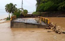 Tropical Storm Erika brings rain, wind to Caribbean