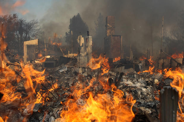 climate change California wildfires