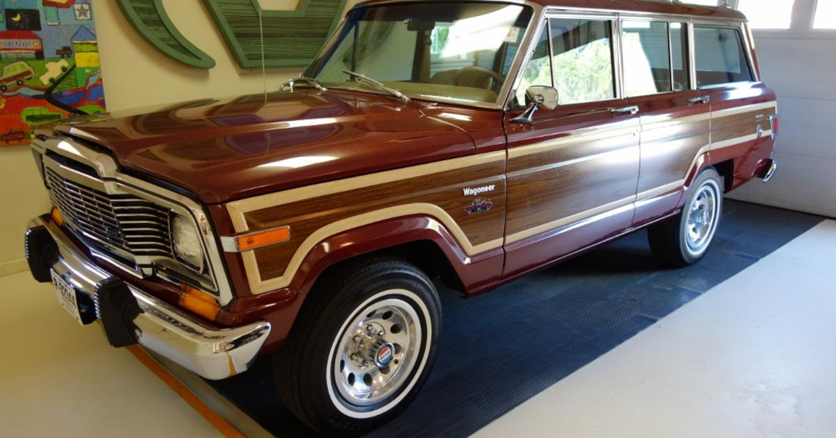 Jeep Woody 2018 >> Will Chrysler's revived Wagoneer be a new Woody? - CBS News