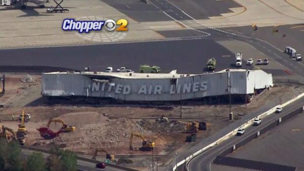 4 Hurt When Hangar Collapses At Newark Liberty Airport