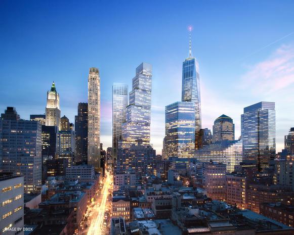 Two World Trade Center design
