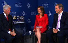"""Pres. Clinton: Clearly """"a thaw going on"""" between U.S. and Iran"""