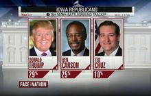 New CBS Poll: Trump on top, with Carson close behind