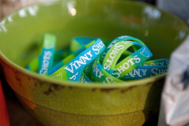 """""""Vinny Shots"""" bracelets"""