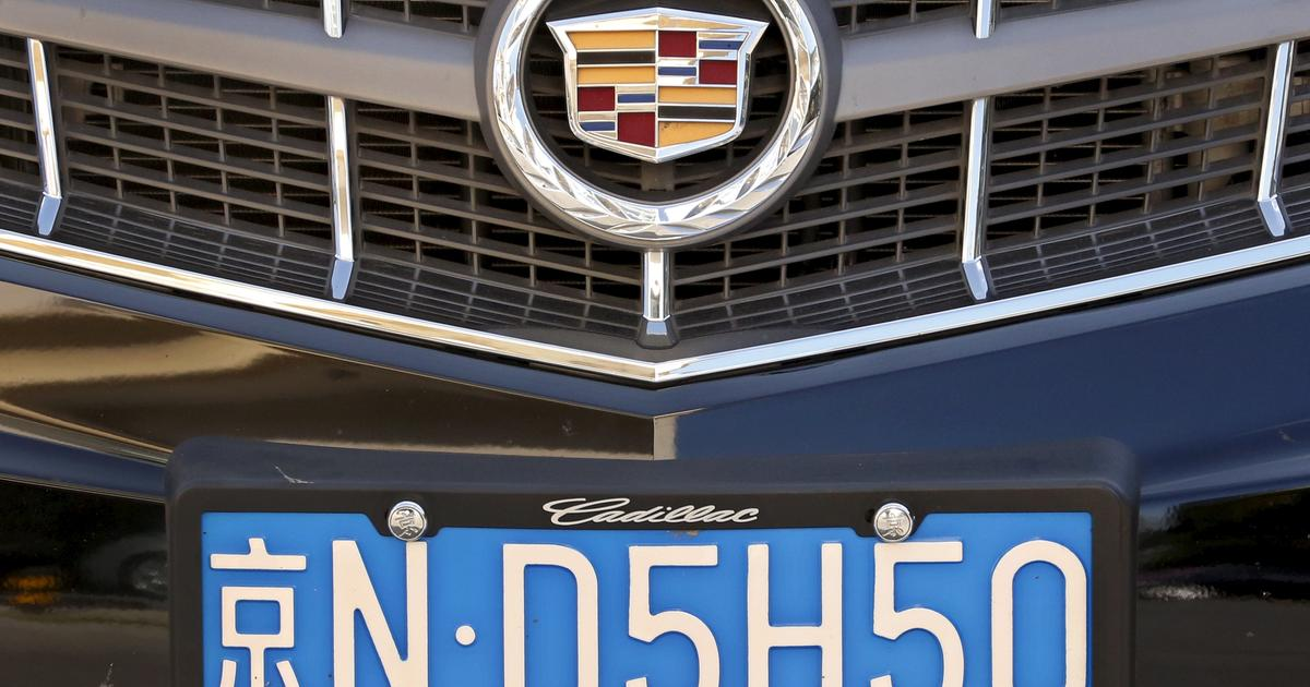 Cadillac Evening News >> Automakers feeling the pain of China slowdown - CBS News
