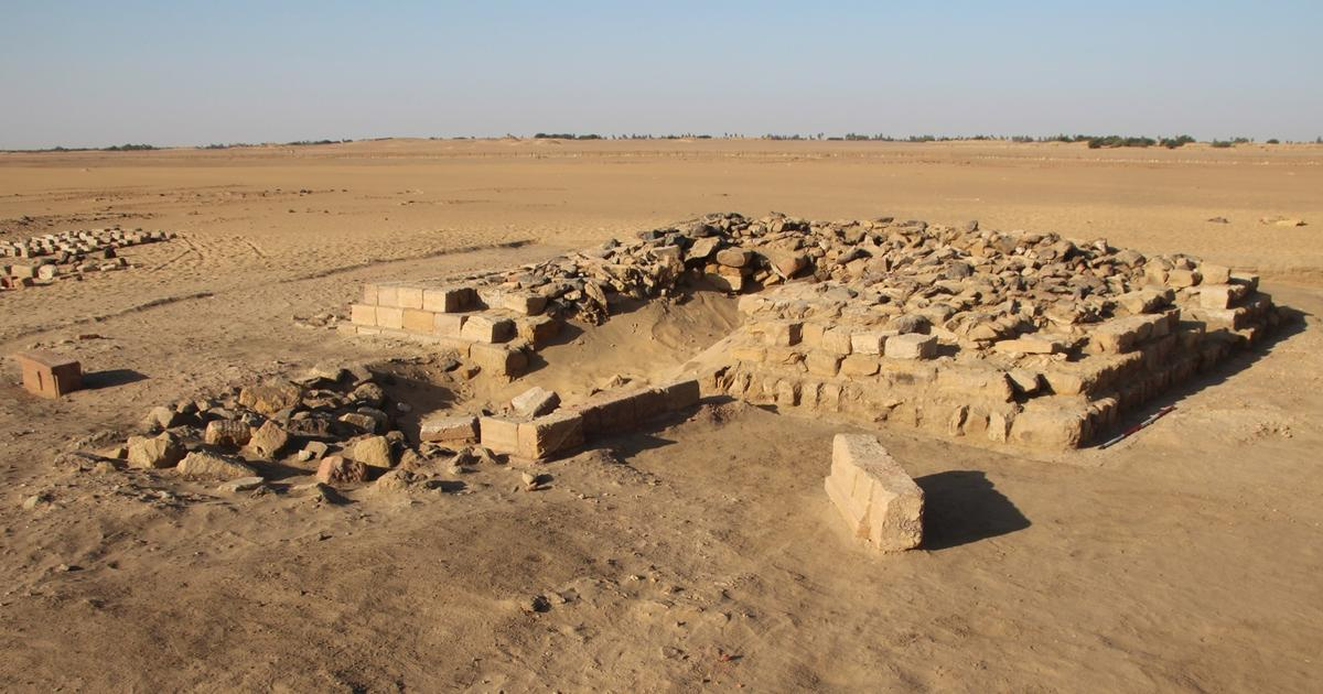16 pyramids discovered in ancient cemetery
