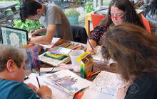 Adults rediscover joy of coloring books