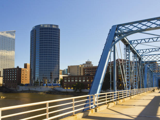Grand Rapids Stock Photo