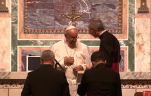Pope Francis leads prayer service in Washington, D.C.