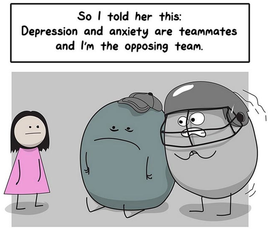 This comic blows the lid off depression