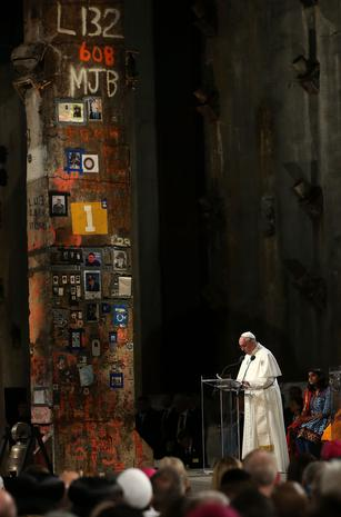 Pope Francis in New York