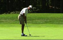 President Obama hits the golf course