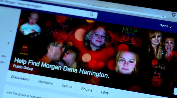 The Harringtons used social media to help search for their daughter, Morgan