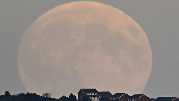 Rare super blood moon eclipse