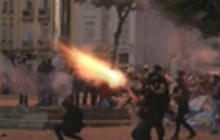 Riot police use tear gas, rubber bullets in Turkey
