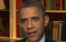 "Obama on Syria: ""Very easy to slip-slide"" into deeper involvement"