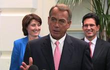 """Boehner: Clean CR bill """"not going to happen"""""""