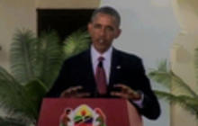 President Obama pushes for peace in Egypt