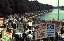 Renewing the dream: Thousands retrace March on Washington
