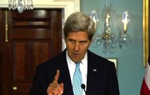 Kerry on Syria chemical attack, U.S. response